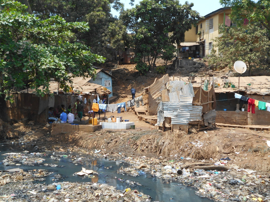 Kroobay Slums, Freetown